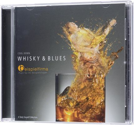 [Translate to Russian:] Whisky & Blues-Sampler mit Ihrem Logo: Das ideale Werbegeschenk