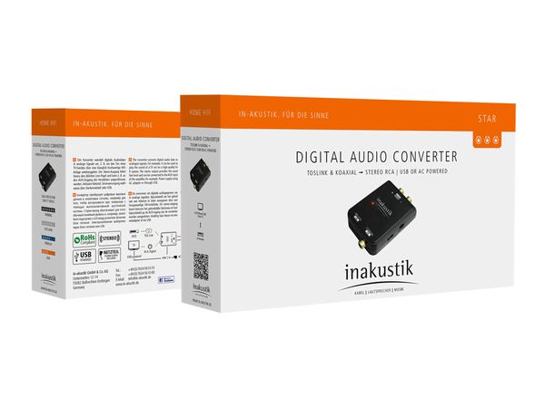 Star Audio Converter  Digital > Analog