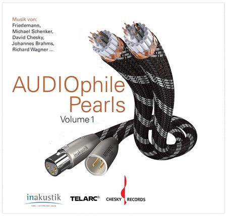 "[Translate to Russian:] in-akustik Sampler ""Audiophile Perls"" (Im Auftrag des Fachmagazins AUDIO)"